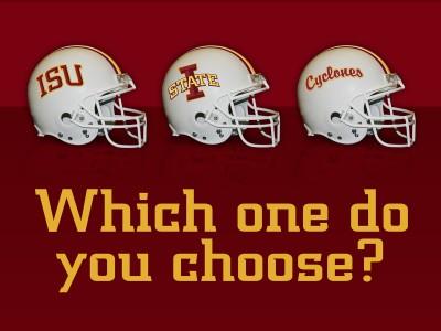 Iowa State Football Helmet Wallpaper