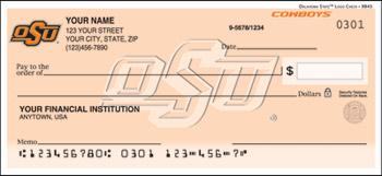 Oklahoma State Personal Checks