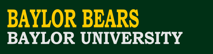 Baylor Bears Football Online