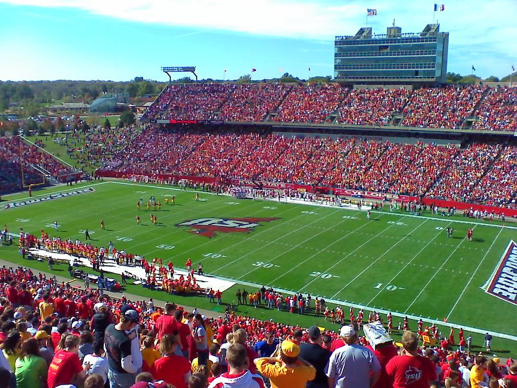 Iowa State Football Stadium - Big 12 Football Online