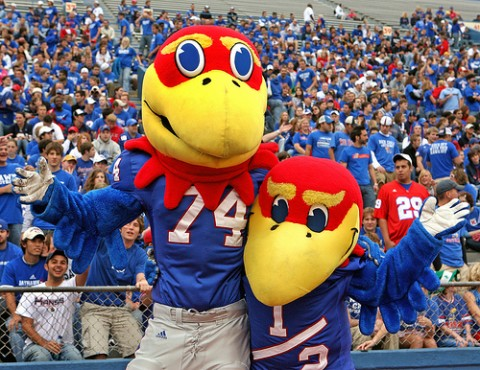 Kansas Football Mascot