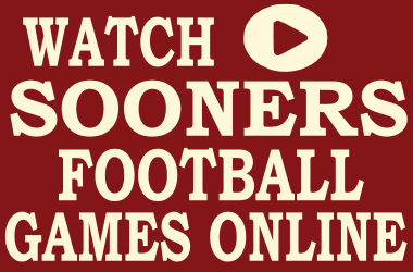 Watch Oklahoma Football Games Online