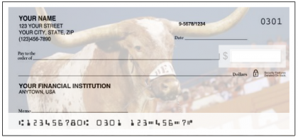 University of Texas Checks